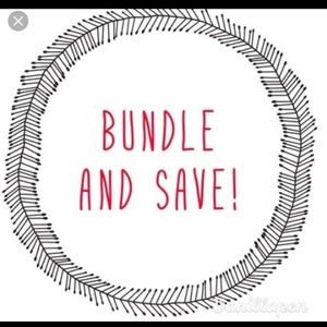 Bundle and save on 2 or more items ❤️❤️❤️